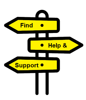 Find help and support signpost