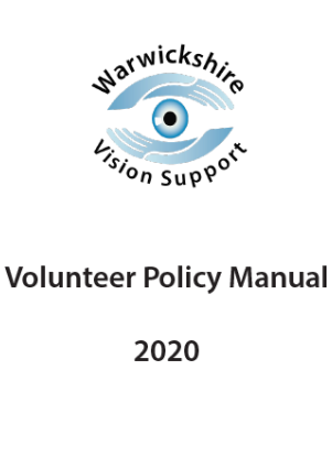 Volunteer Policy Manual 2020