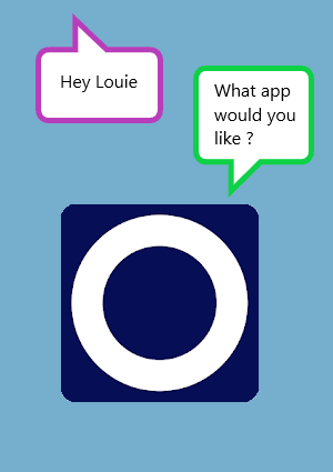 Louie Voice conversation
